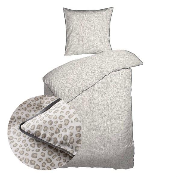 Baby sengetøj 70x100 cm - Økologisk Bomuld - Leo Sand