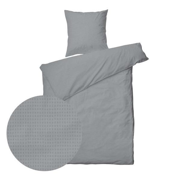 8e45f798927 Sengetøj Blocks grå 140x220 cm - Kvalitets sengesæt Tilbud Online