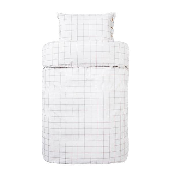 flonel sengetøj Kvalitets flonel Sengetøj 140x200 cm   Høie Karsten camel flonel sengetøj