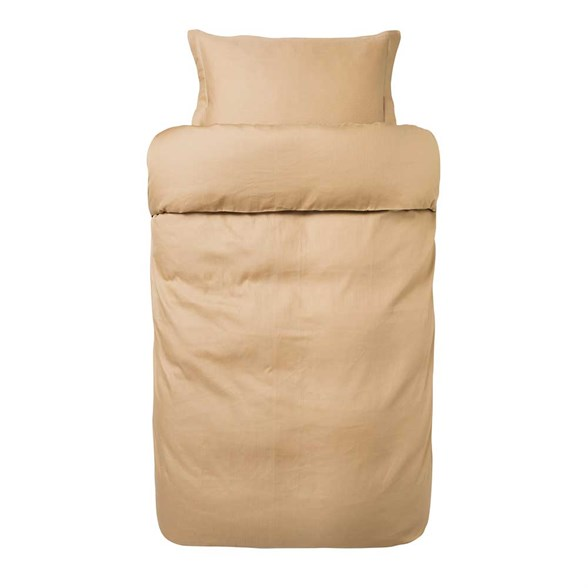 Høie sengetøj - Messing Palma - satinstrib 140x200 cm