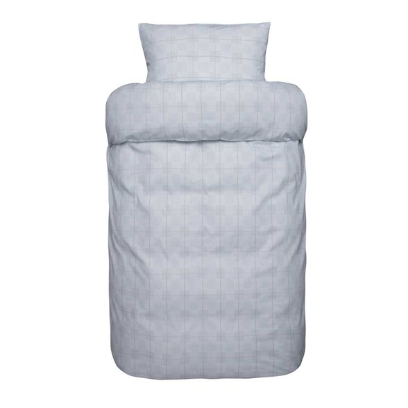 Høie sengetøj - Heine Blå - Ekstra fin bomuld 140x200 cm