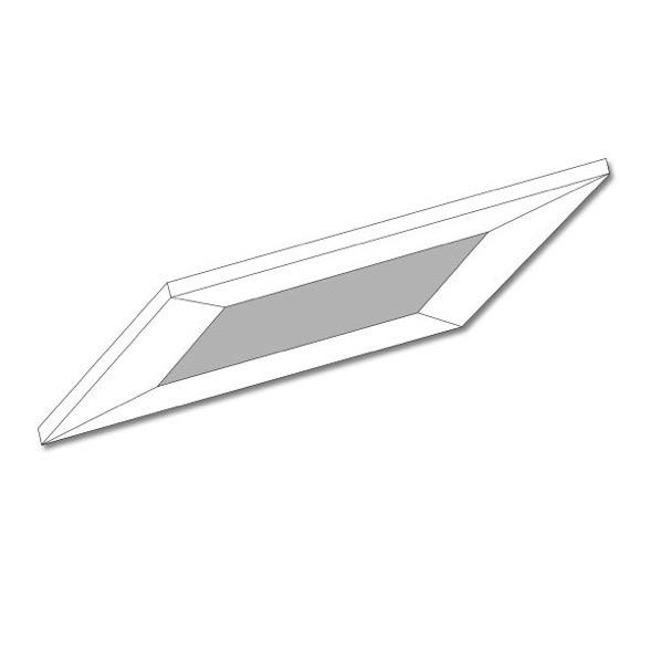 Outlet - Kuvertlagen 140x210 cm - hvid - Bomuldssatin