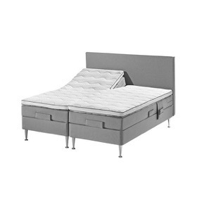 ProSleep Nordic Advance 4.0 - elevationsseng - 180x200 - lysegrå