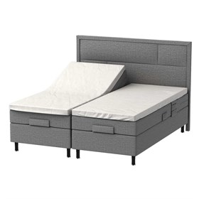 Elevationsseng 180x200 - ProSleep Boston L600