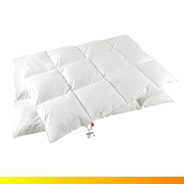 Dobbeltdyne - ProSleep Andedun 1000g - helårs lun - 200x220 cm