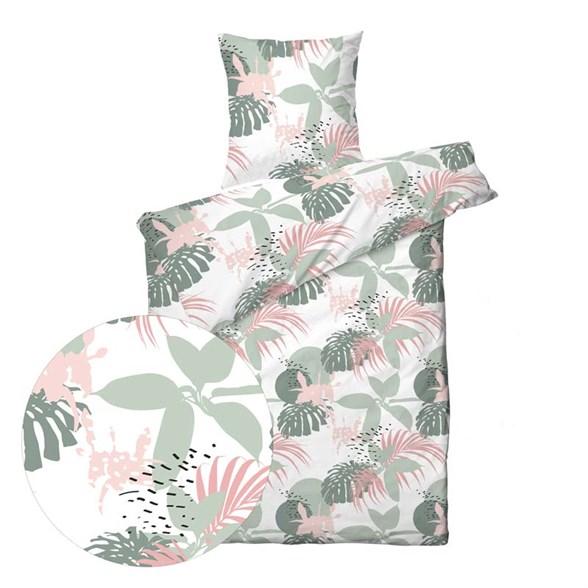Sengesæt bomuldssatin - 140x220 cm - Blossom