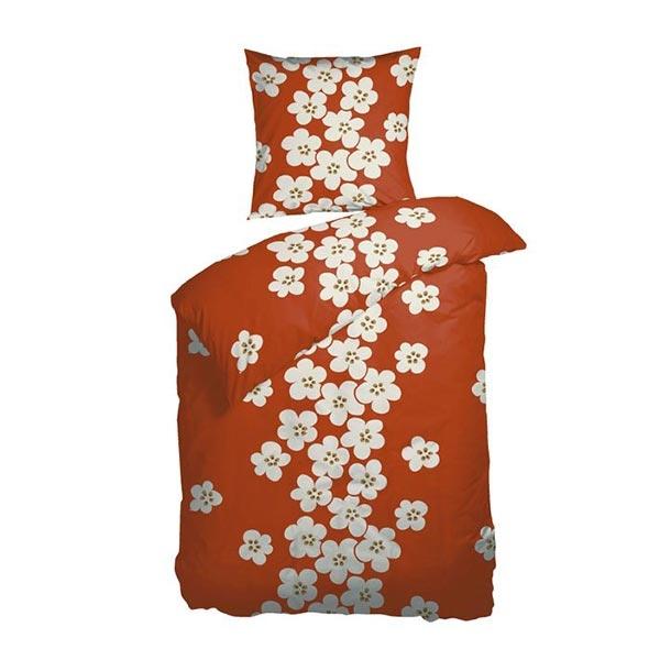 sengetøj 140x220 Køb kvalitets Sengetøj fra Night & Day   Katrine orange sengetøj 140x220